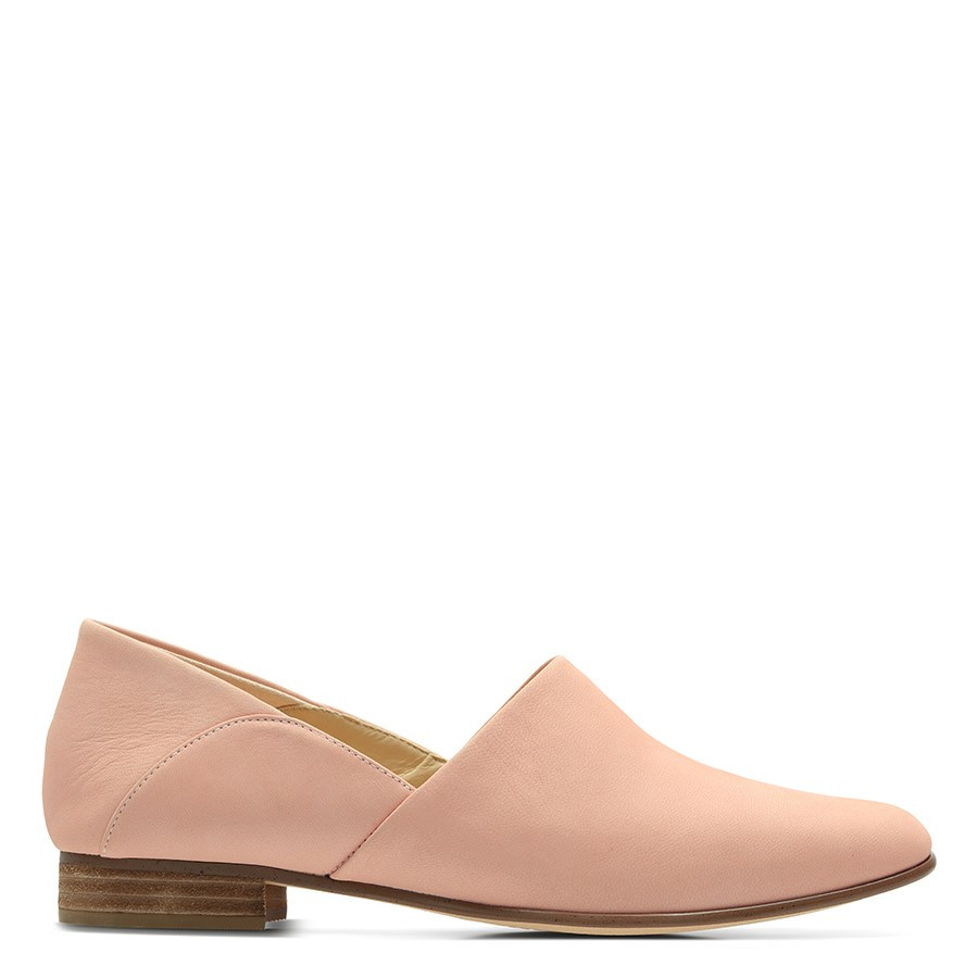 Shoe Warehouse Pure Tone Light Pink Nubuck