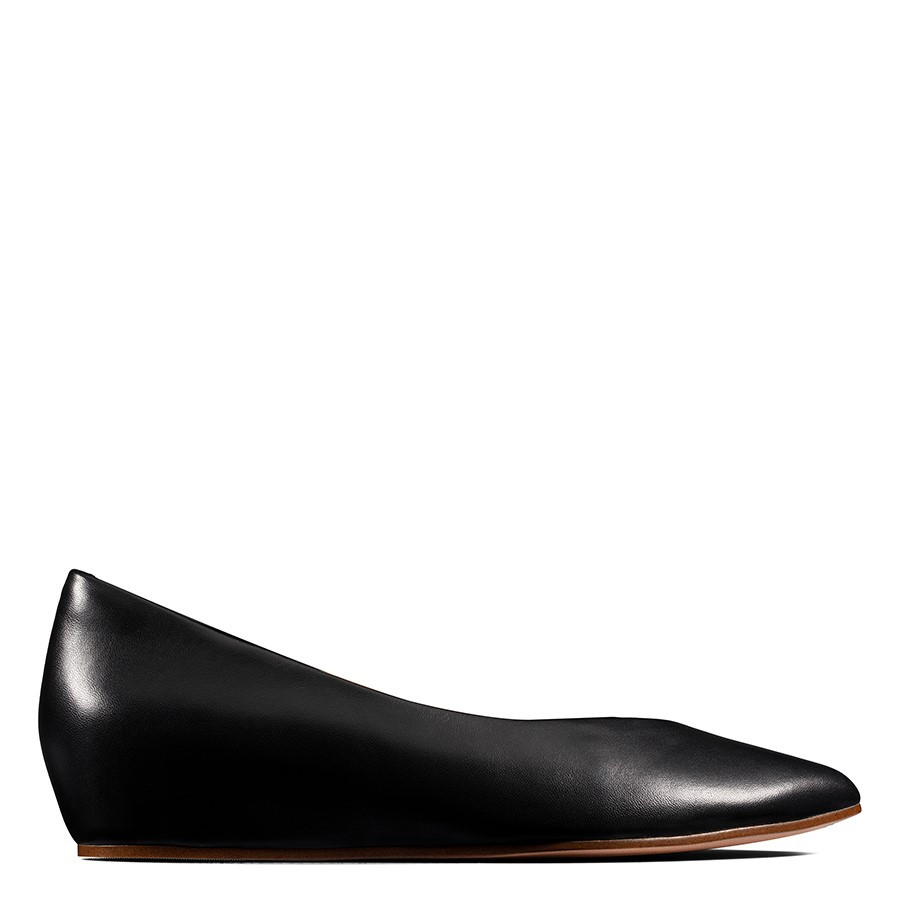 Shoe Warehouse Sense Lula Black Leather