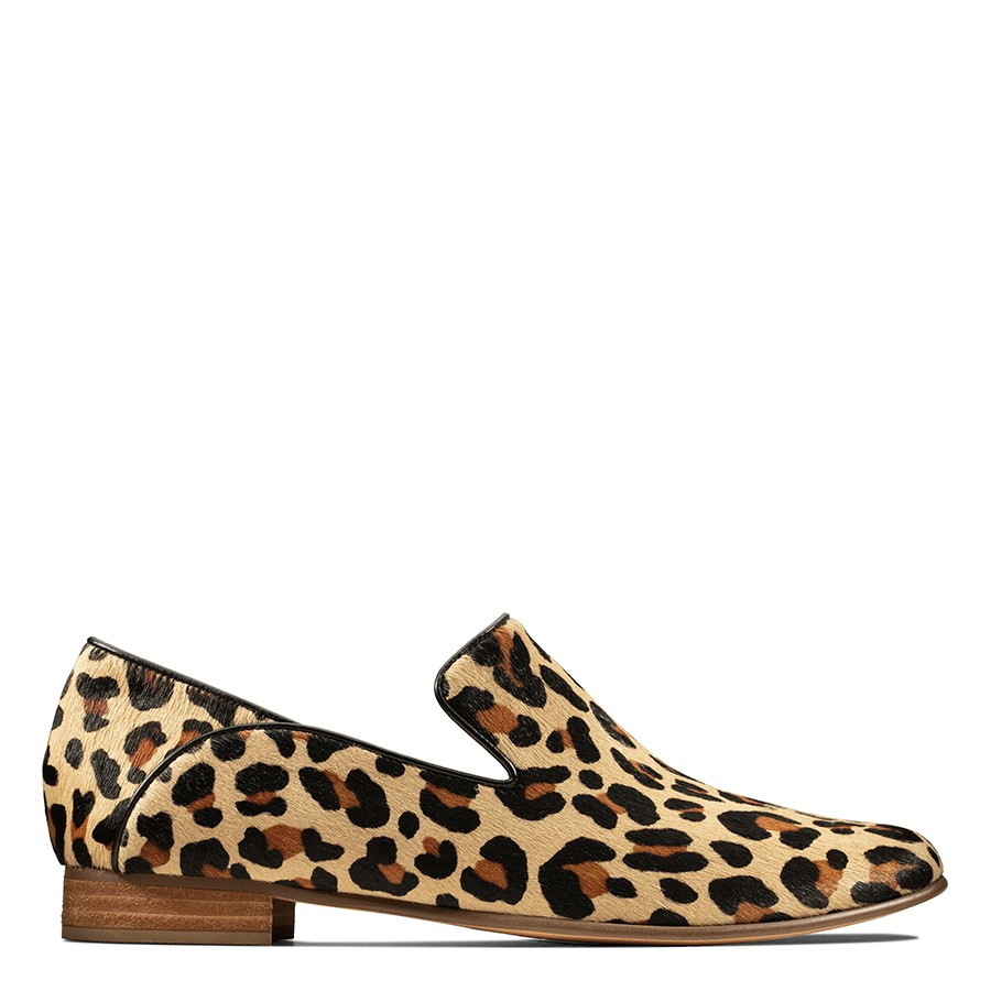 Shoe Warehouse Pure Viola Leopard Print