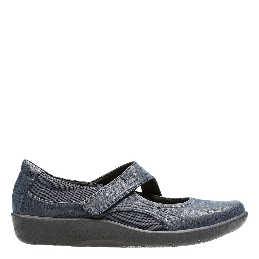 Shoe Warehouse Sillian Bella Navy
