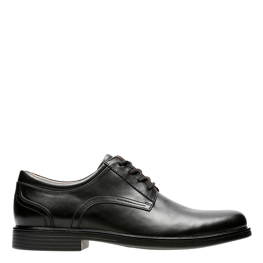 Shoe Warehouse Un Aldric Lace Black Leather