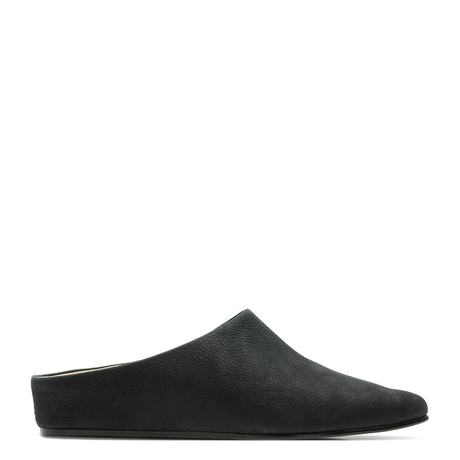 Shoe Warehouse Sense Beau Black Nubuck