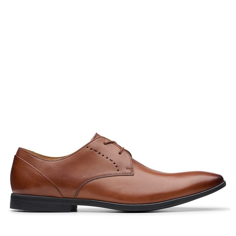 Shoe Warehouse Bampton Lace Tan