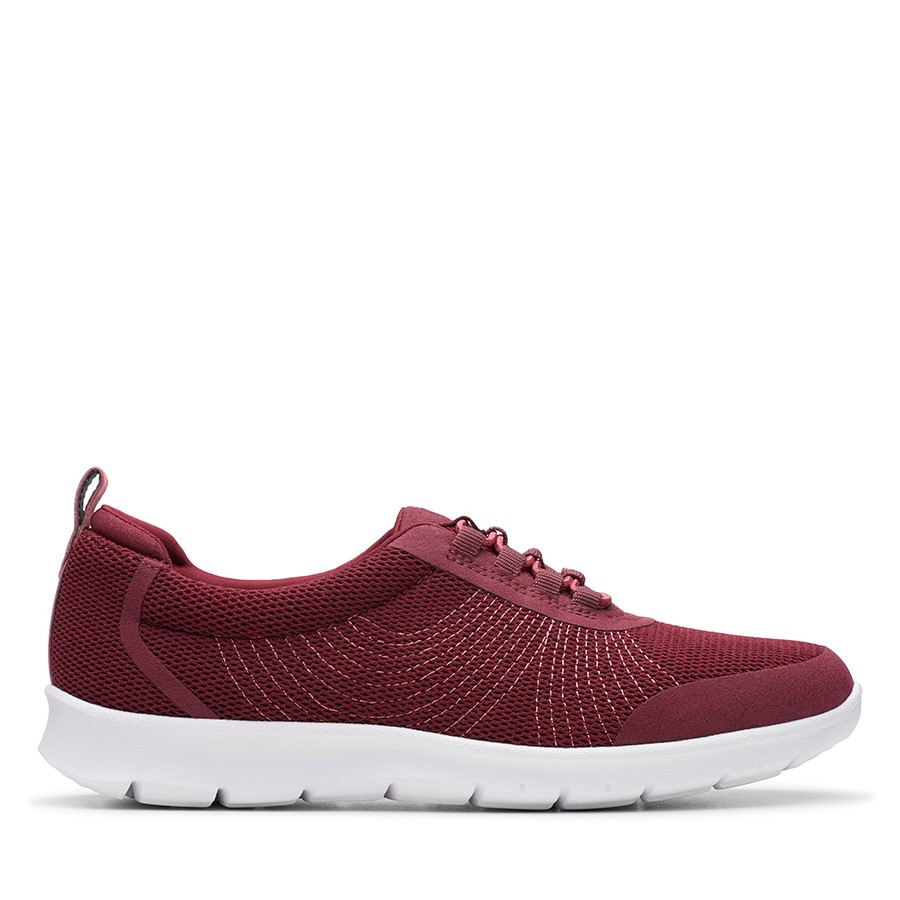 Shoe Warehouse Step Allena Bay Maroon