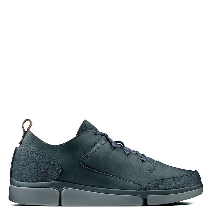 Shoe Warehouse Tri Verve Lace Dark Grey Nubuck