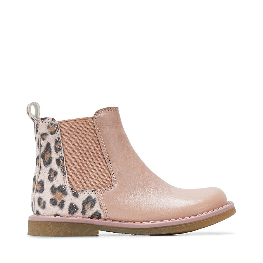 Shoe Warehouse Chelsea Inf Rose/Leopard