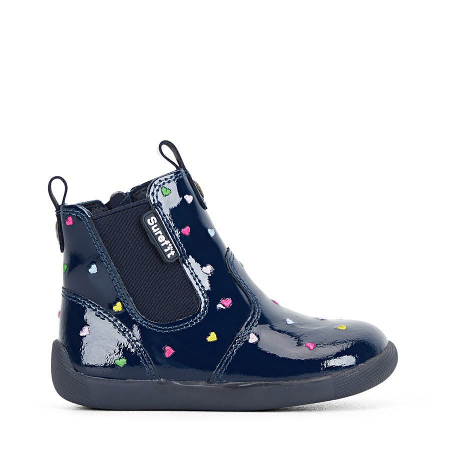 Shoewarehouse Mani Ii Boot Navy Heart