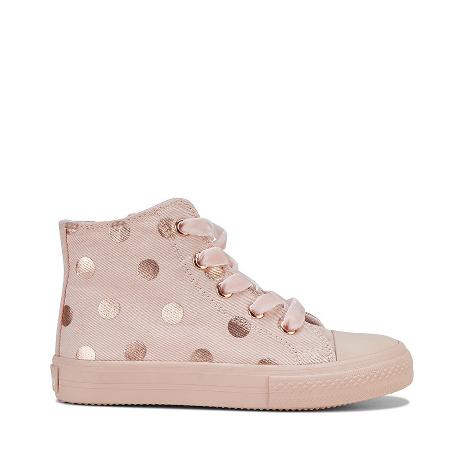 Shoe Warehouse Lacey Pink/Rose Gold