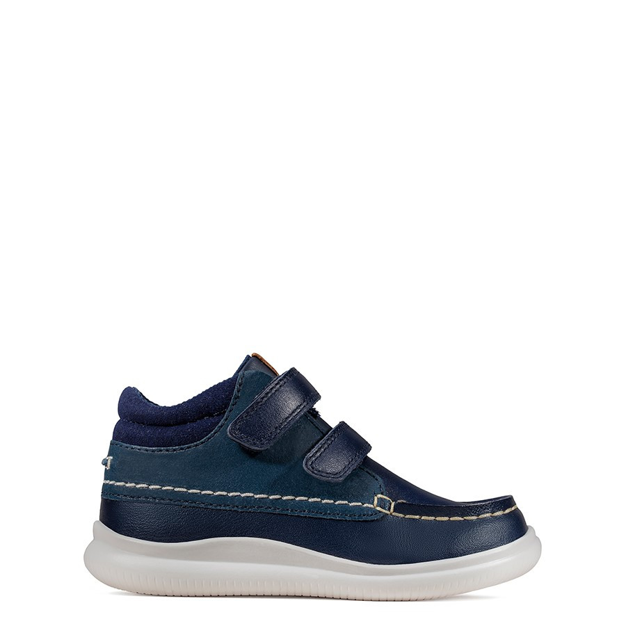 Shoe Warehouse Cloud Tuktu T Navy Leather