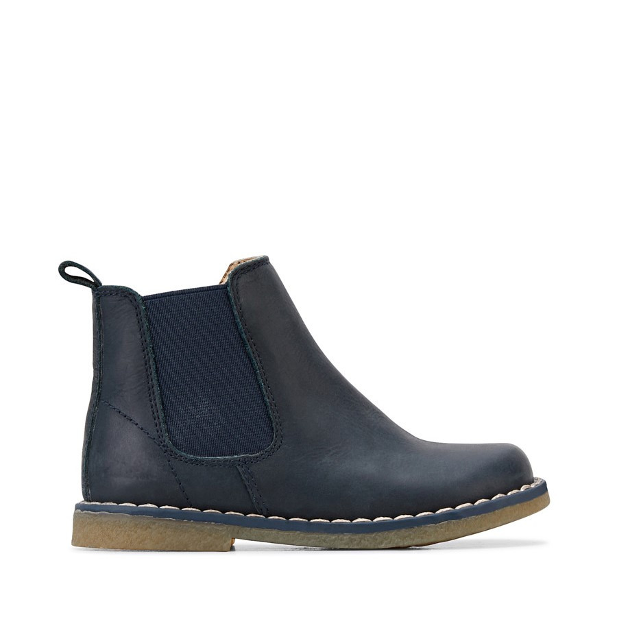 Shoe Warehouse Chelsea Inf Navy Crazy Horse