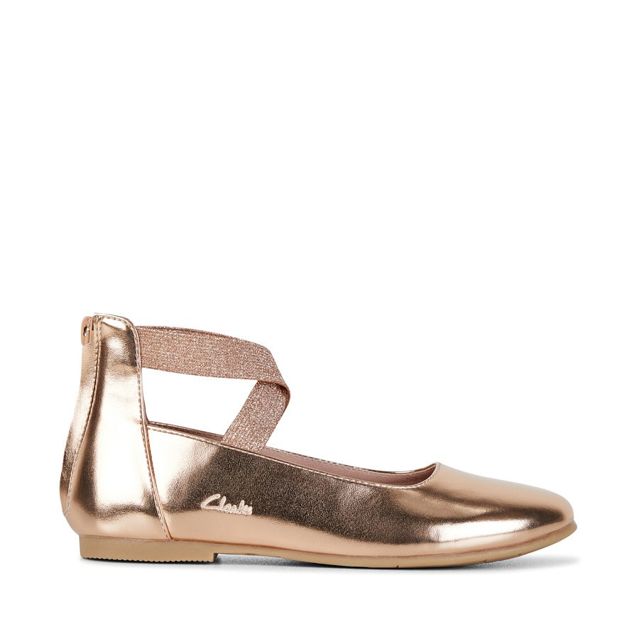 Shoe Warehouse Abigail Rose Gold