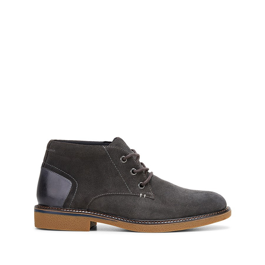Shoewarehouse Michigan Iron Suede