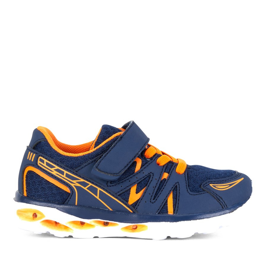 Shoe Warehouse Nico Navy/Orange