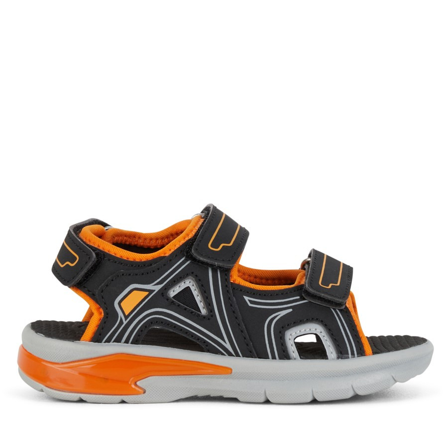 Shoewarehouse Felix Black/Orange