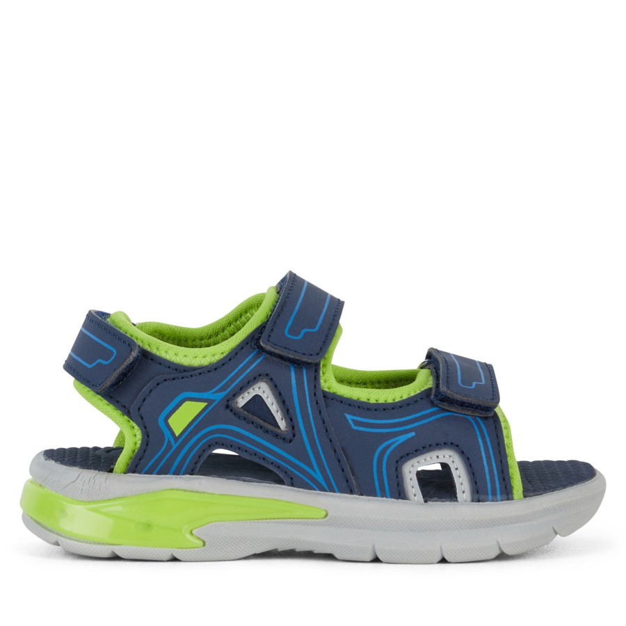 Shoewarehouse Felix Navy/Lime