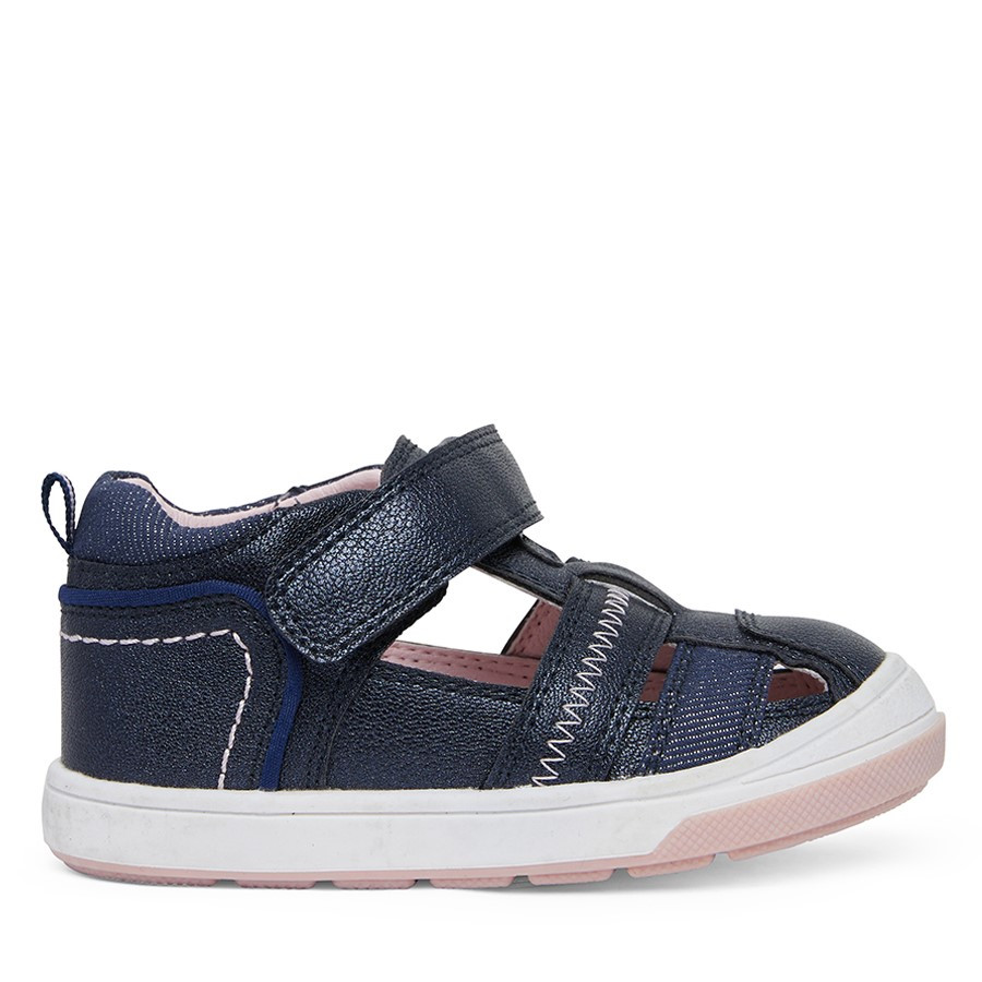 Shoe Warehouse Dixie Navy/Pink