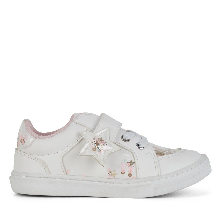 Shoe Warehouse Dally Star White