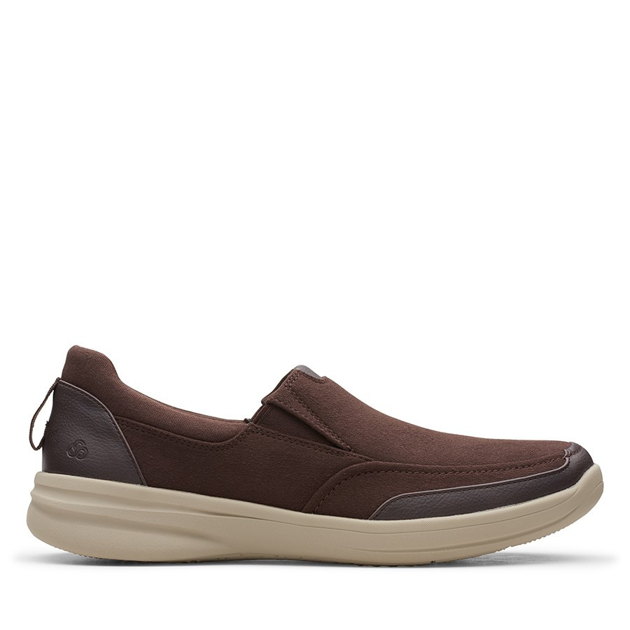 Shoe Warehouse Stepstroll Edge Brown Leather