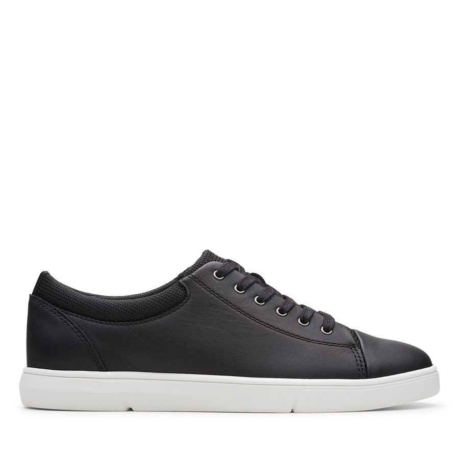 Shoe Warehouse Landry Vibe Black Combo Leather