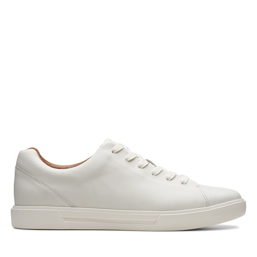 Shoe Warehouse Un Costa Lace White Leather