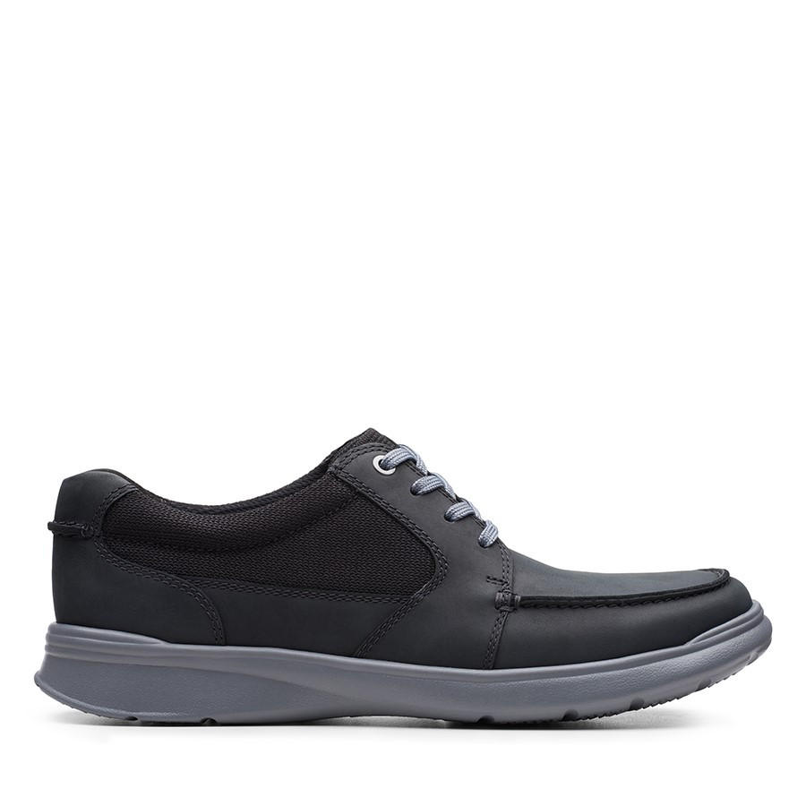 Shoe Warehouse Cotrell Lane Black Combo Leather