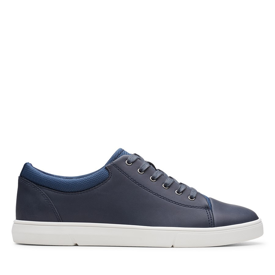 Shoe Warehouse Landry Vibe Navy Combo Leather