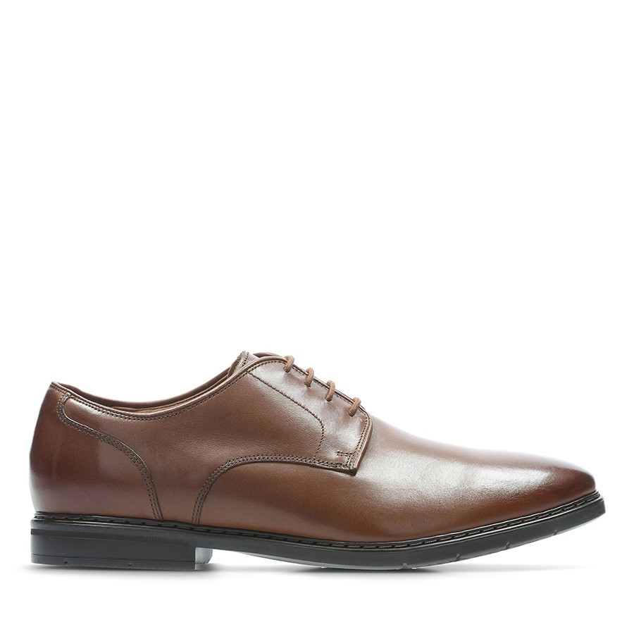 Shoe Warehouse Banbury Lace British Tan Leather