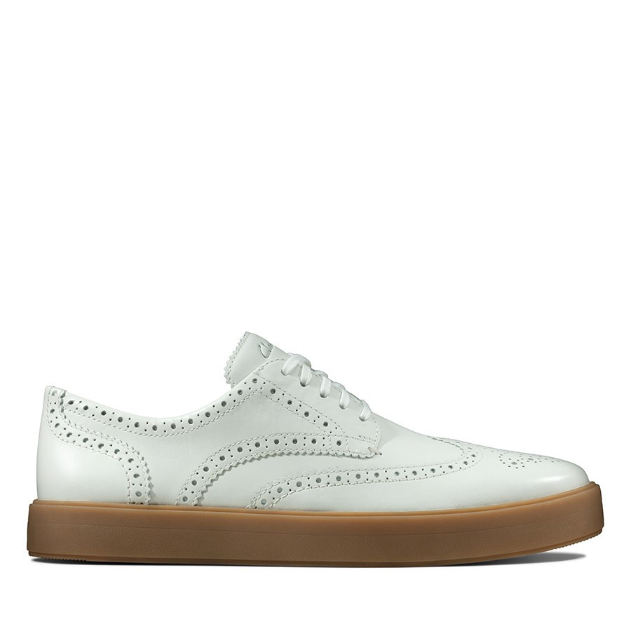 Shoe Warehouse Hero Limit White Leather