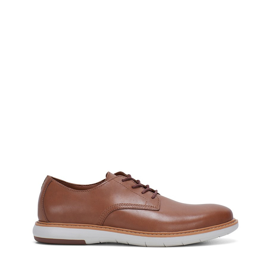 Shoe Warehouse Draper Lace Tan Leather