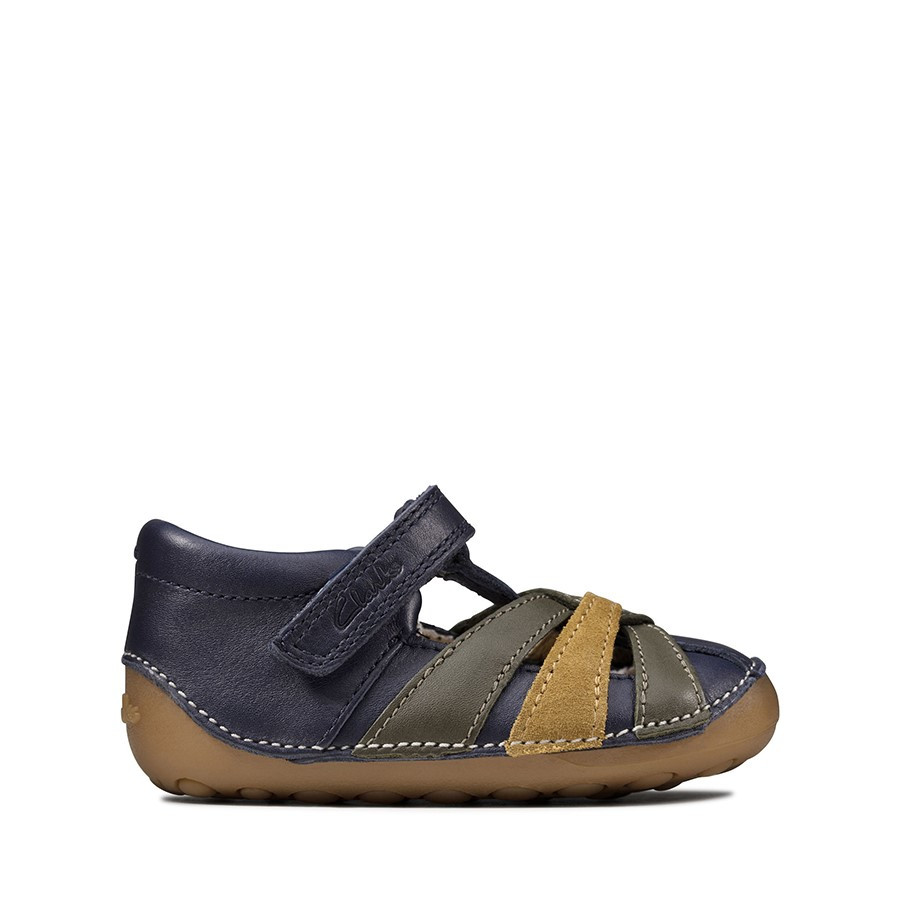 Shoewarehouse Tiny Mae T Navy Combo