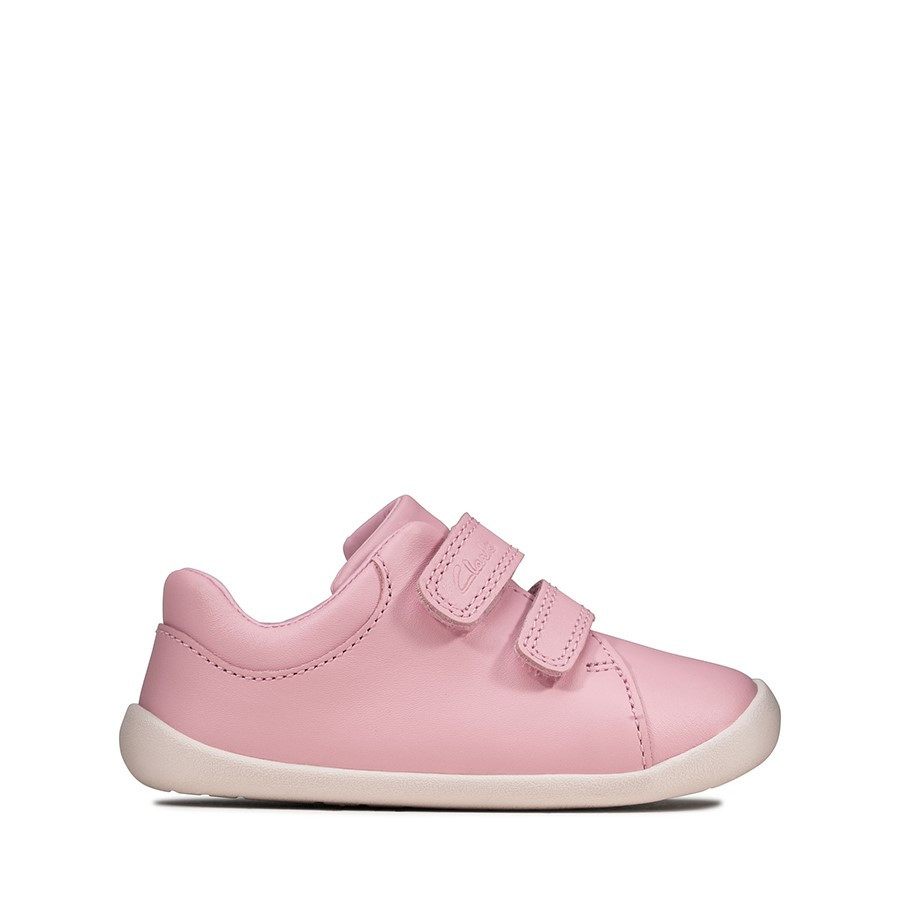 Shoewarehouse Roamer Craft T Pink Leather