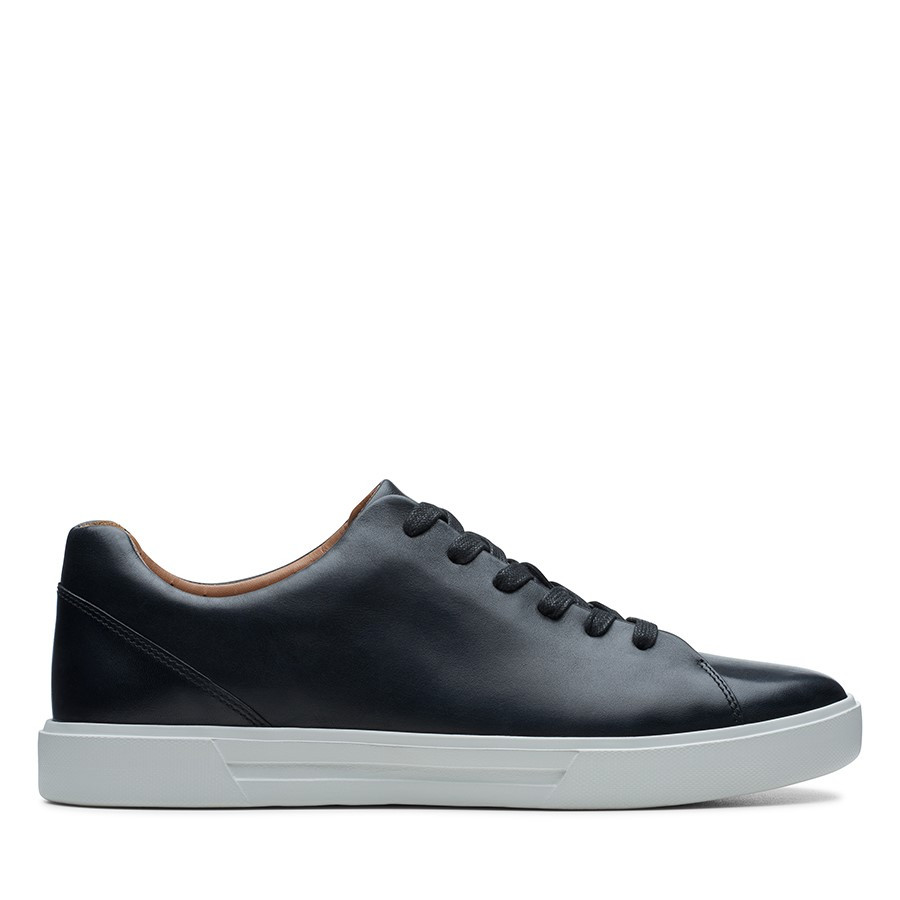 Shoe Warehouse Un Costa Lace Black Leather