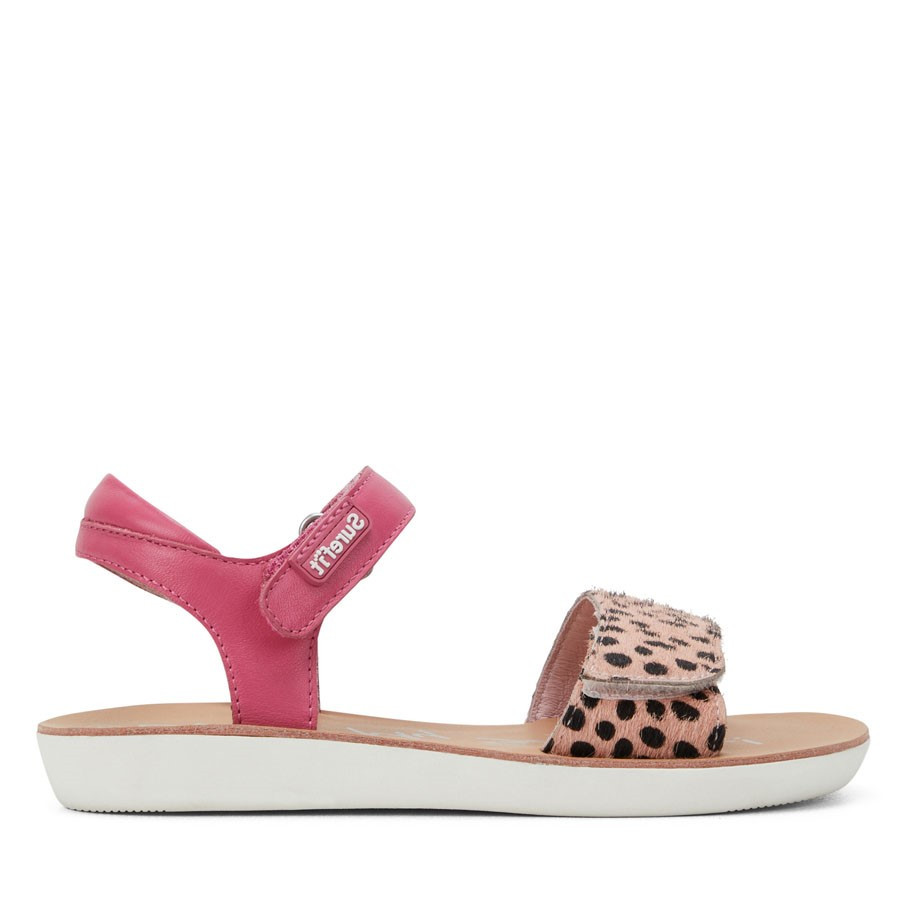 Shoewarehouse Opal Pink Leopard