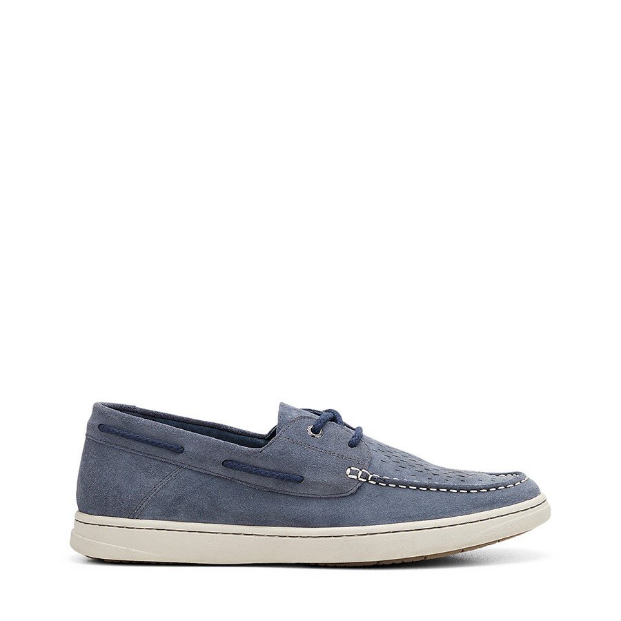 Shoe Warehouse Todd Navy Suede