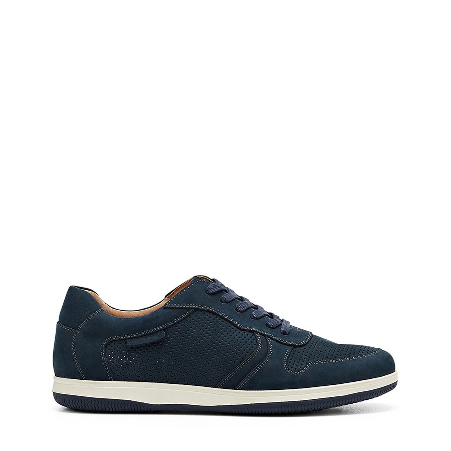 Shoe Warehouse Danny Navy Nubuck Perf