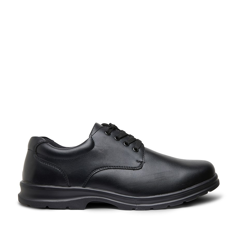 Shoewarehouse Educate Snr 2 Black