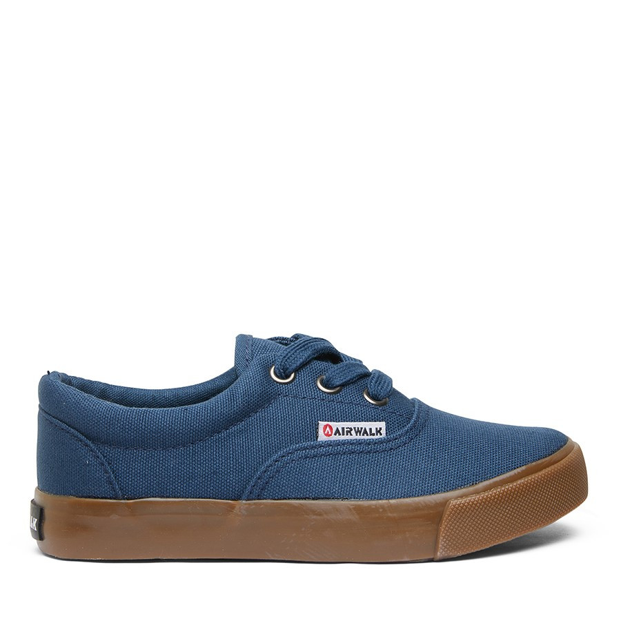 Shoe Warehouse Ox Jnr Blue/Gum