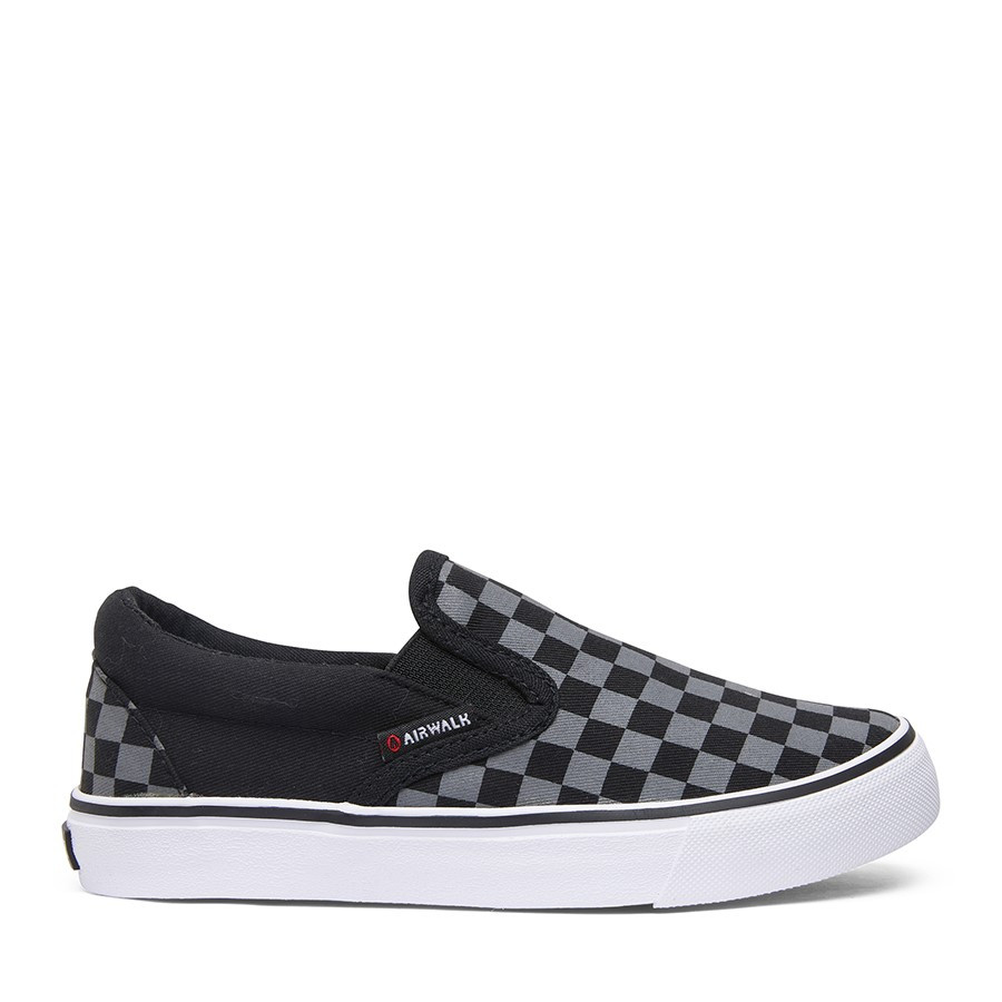 Shoe Warehouse Otto Black/Charcoal