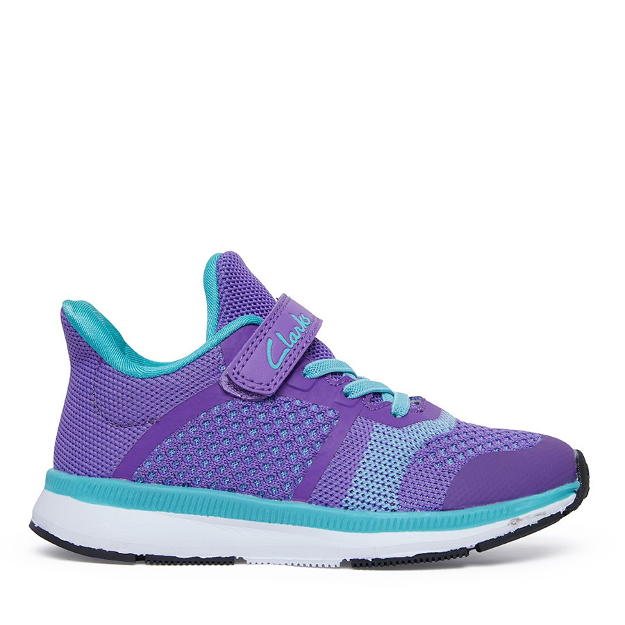 Shoewarehouse Leon Ii Purple/Turquoise