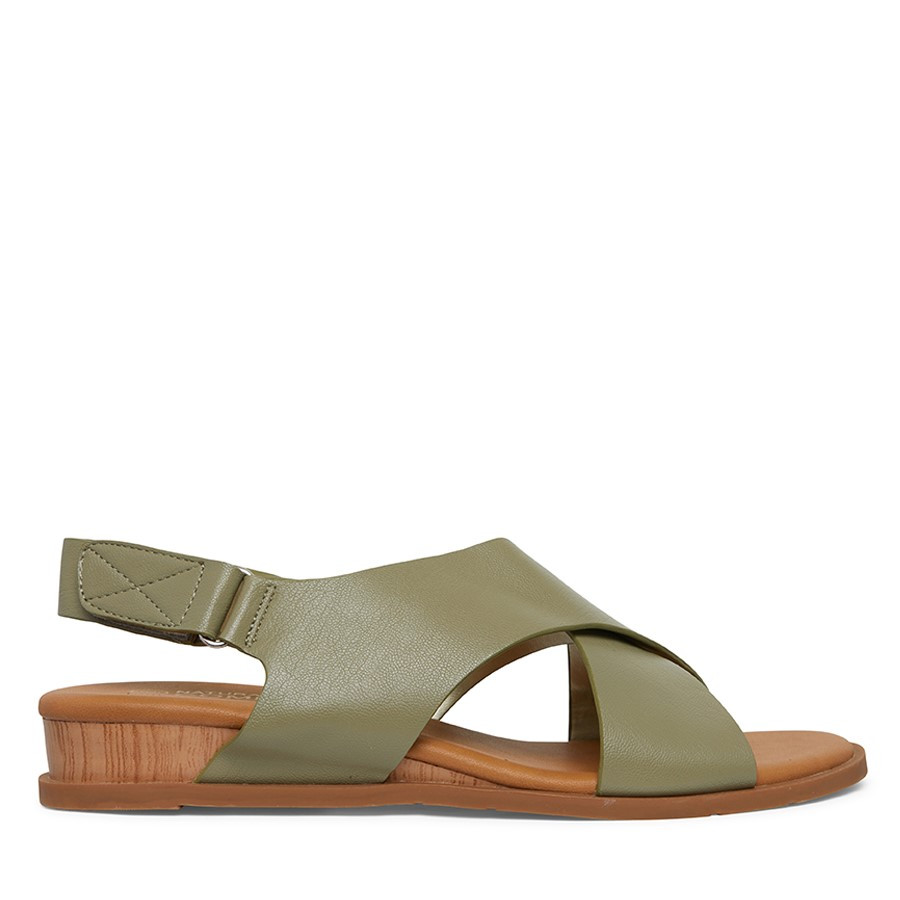Shoewarehouse Atlas Olive