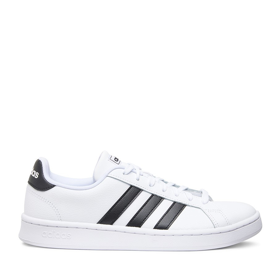 Shoe Warehouse Grand Court White/Black