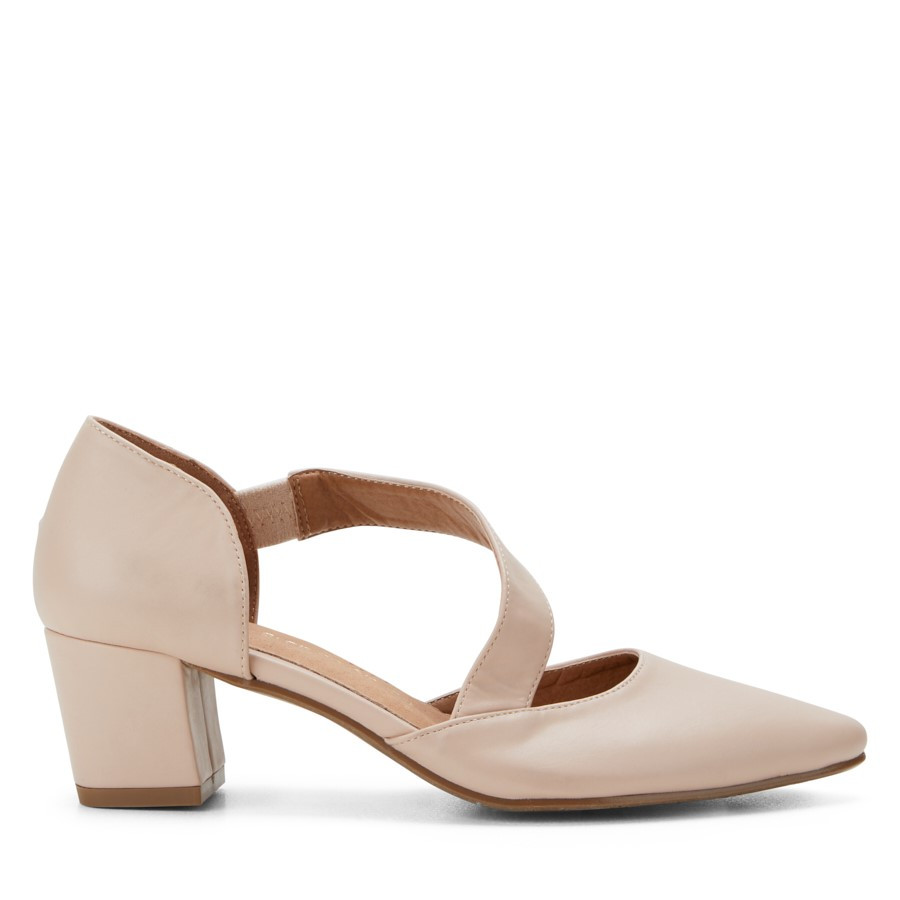 Shoe Warehouse Office Nude Pink
