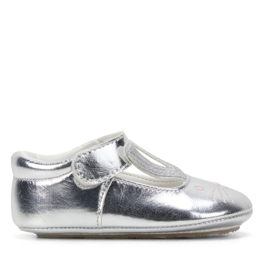 Shoewarehouse Kate Silver