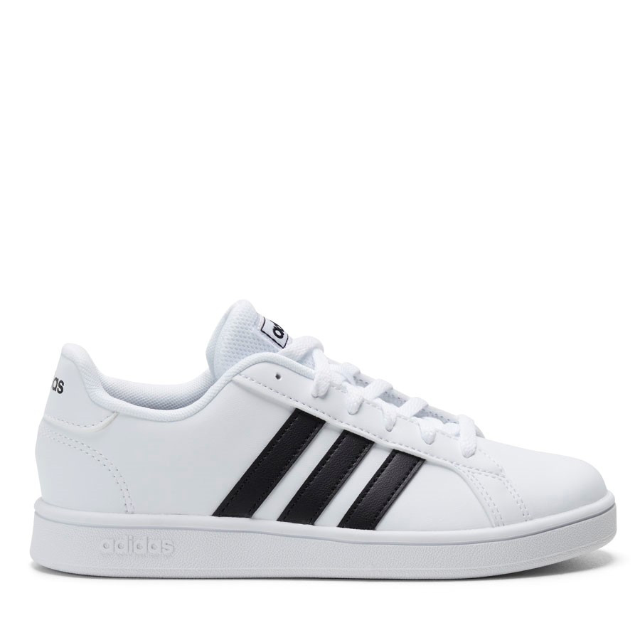 Shoe Warehouse Grand Court K White/Black