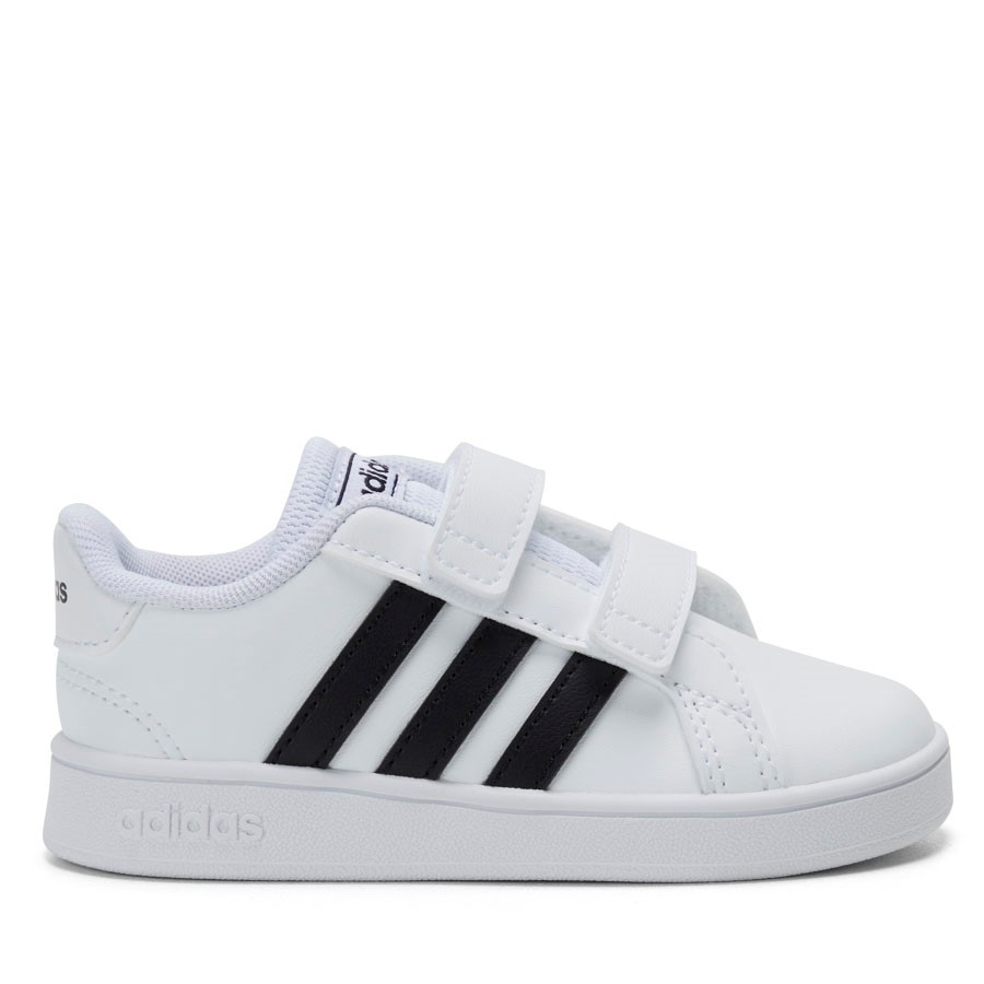 Shoe Warehouse Grand Court Inf B White/Black