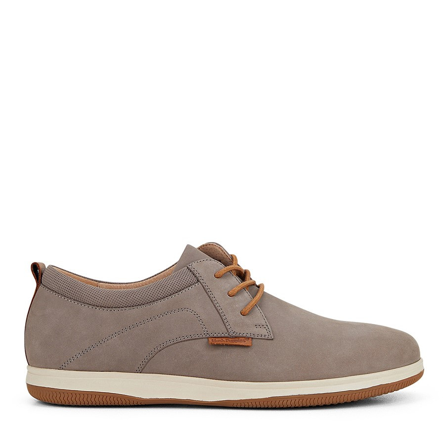 Shoe Warehouse Dominik Grey Nubuck