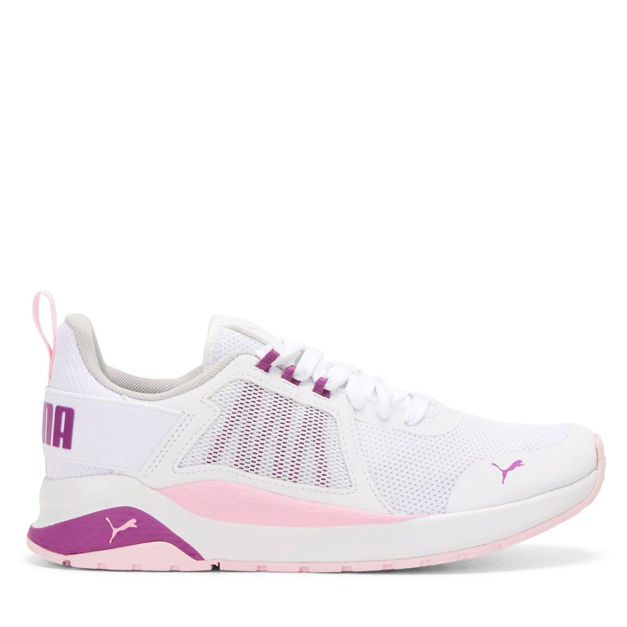 Shoe Warehouse Anzarun Jnr White/Pink