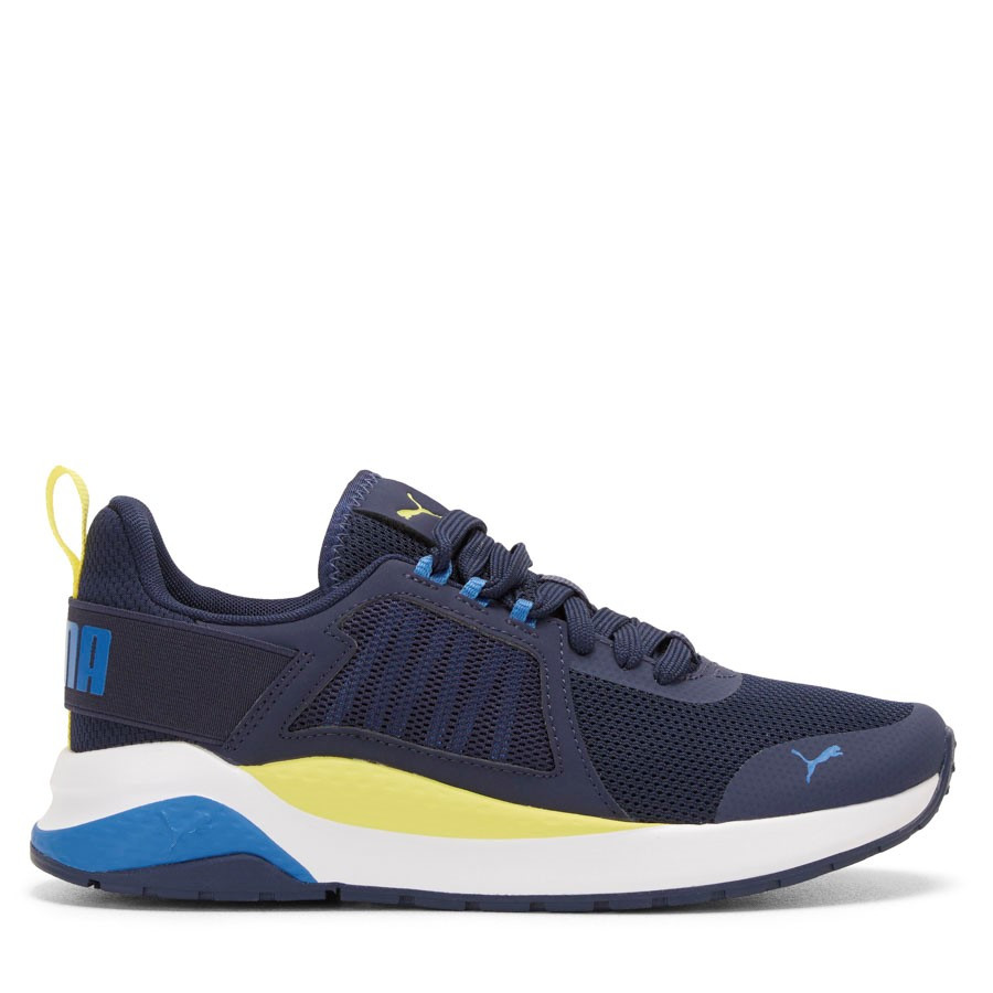 Shoe Warehouse Anzarun Fs Jnr Navy/Yellow