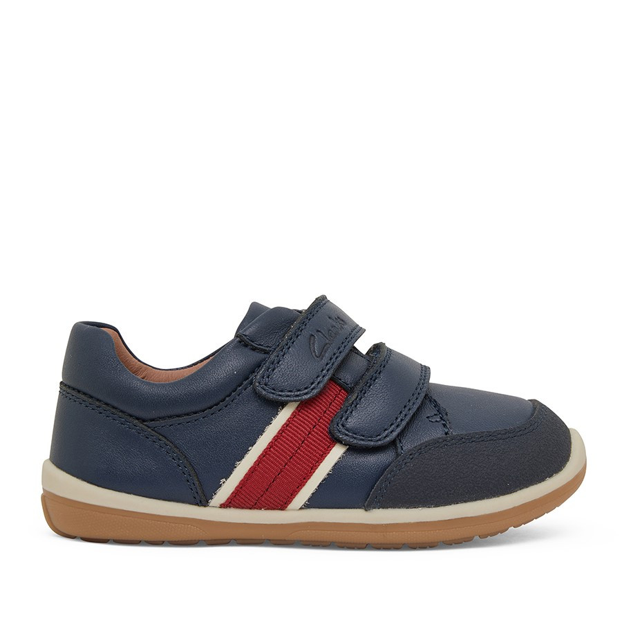 Shoe Warehouse Micky Navy/Red