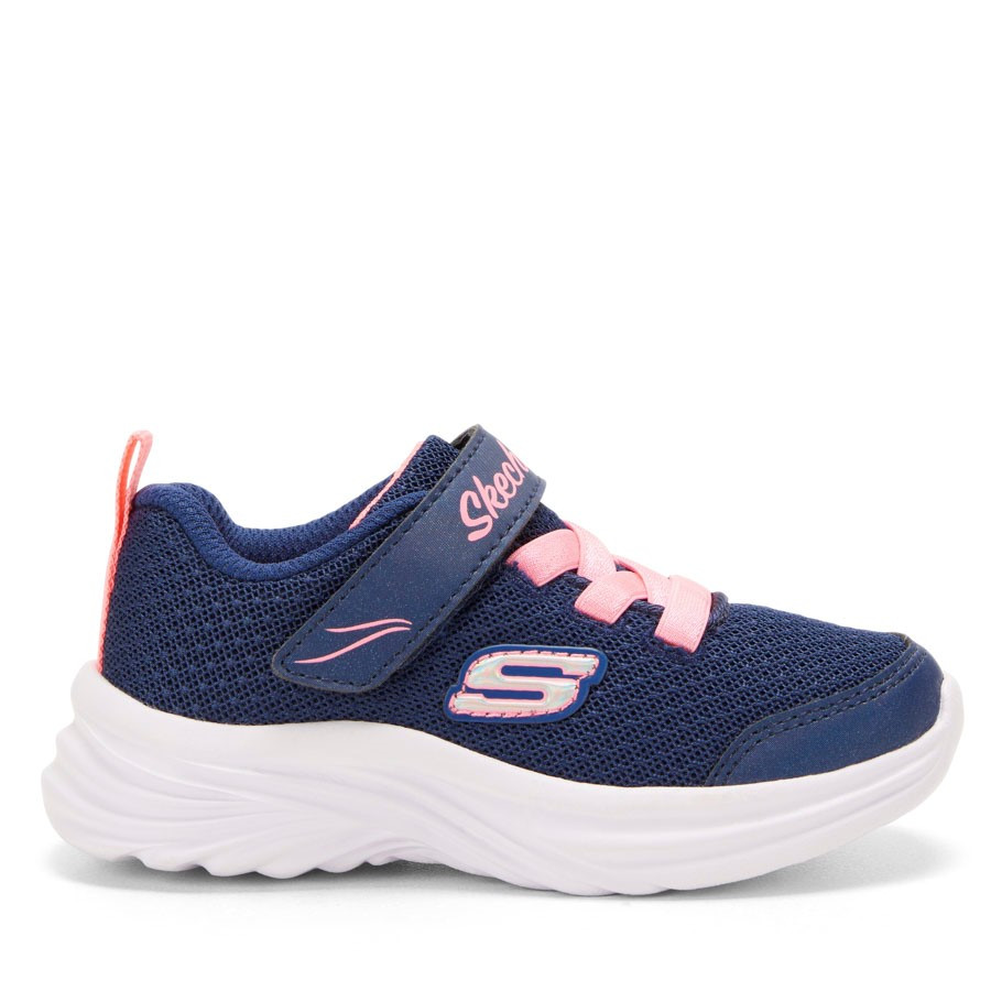 Shoewarehouse Dreamy Dancer Miss M Inf Navy/Coral